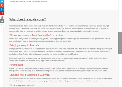 Guide to moving to Australia from New Zealand