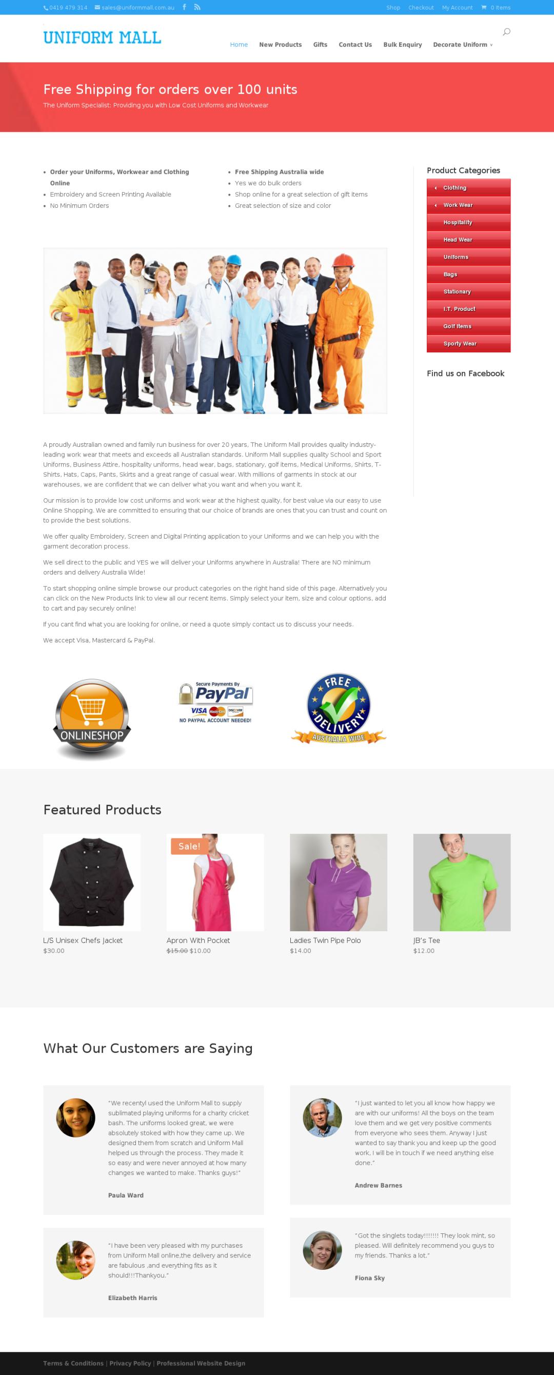 Uniformmall Pty Ltd